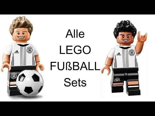 Alle LEGO Fußball Sets (EM Special #1) I Webdough FIlm