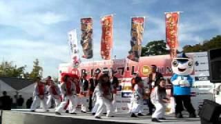 2011年11月12日。B-1グランプリin姫路。第2会場「熱血!! 勝浦タンタン...