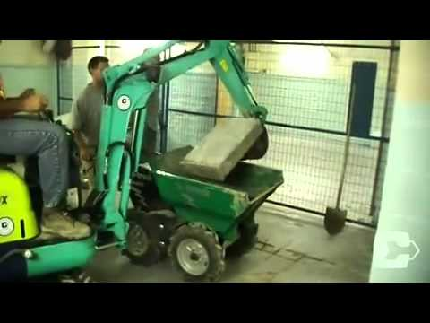 Cooper equipment rentals muck truck youtube for Cooper rentals