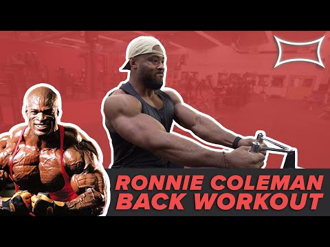 The Ronnie Coleman Back Workout Ft. Big J & Nsima Inyang
