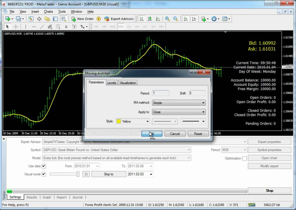 Simple forex tester full