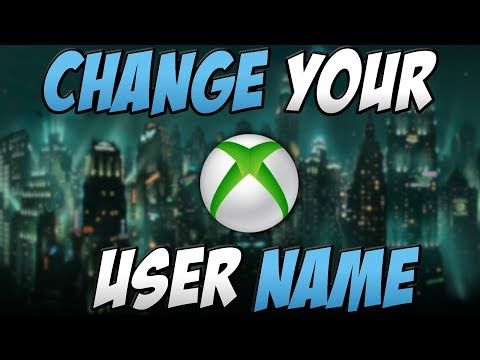 How To Change Your Xbox User Name (Xbox GamerTag)