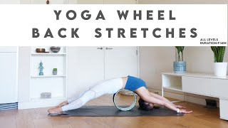 How To Use Yoga Wheel To Improve Spinal Flexibility | Lydia Lim Yoga