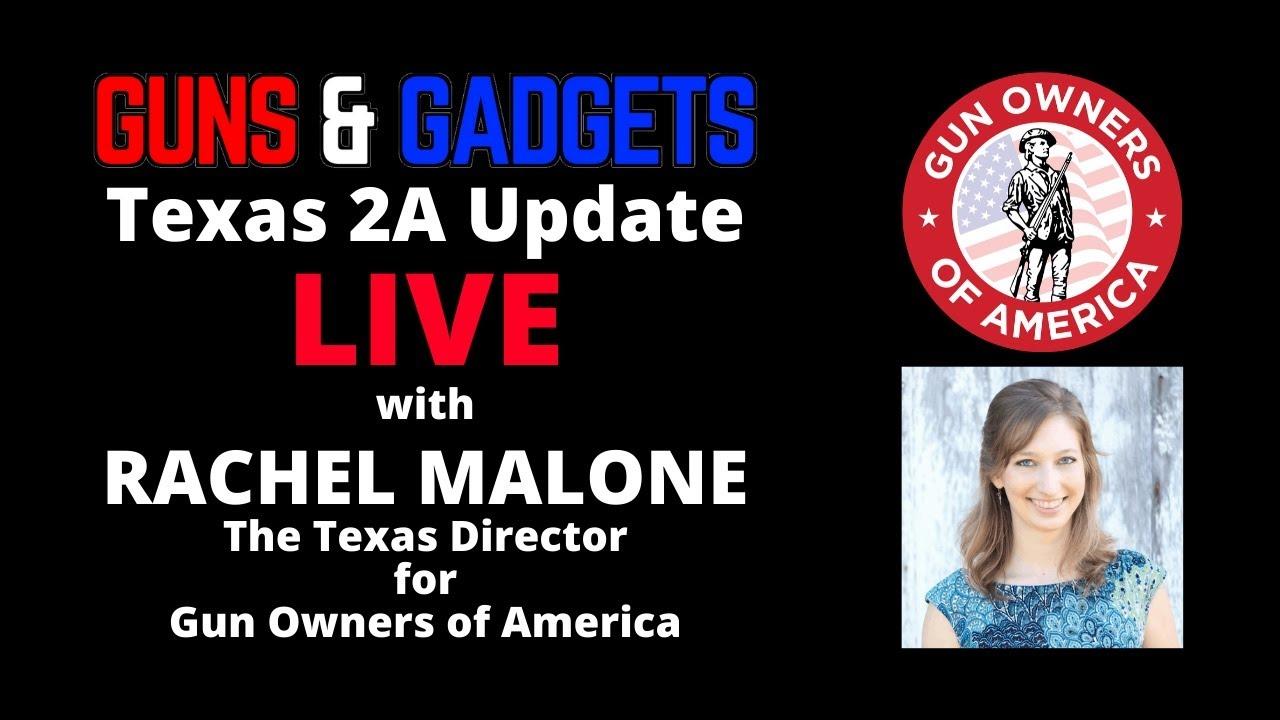 Texas Gun Control with Rachel Malone of Gun Owners of America 🇺🇸