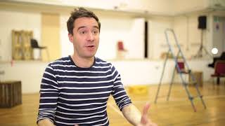 James Graham's Sketching - in the rehearsal room