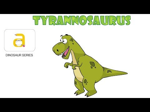 How to Draw Dinosaurs | Draw TYRANNOSAURUS | Draw Cartoon Dinosaur Series | Art for Kids