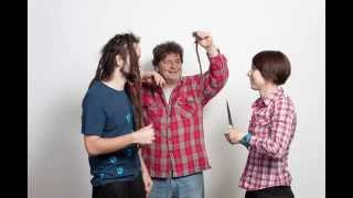 Balding sucks Farewell dreadlocks