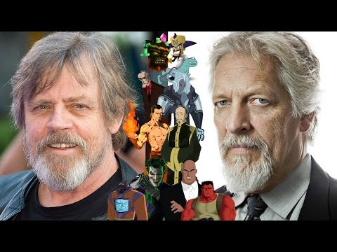 Voice Connections  Mark Hamill & Clancy Brown