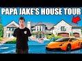 PAPA JAKE'S HOUSE TOUR!! Gaming Setup, M