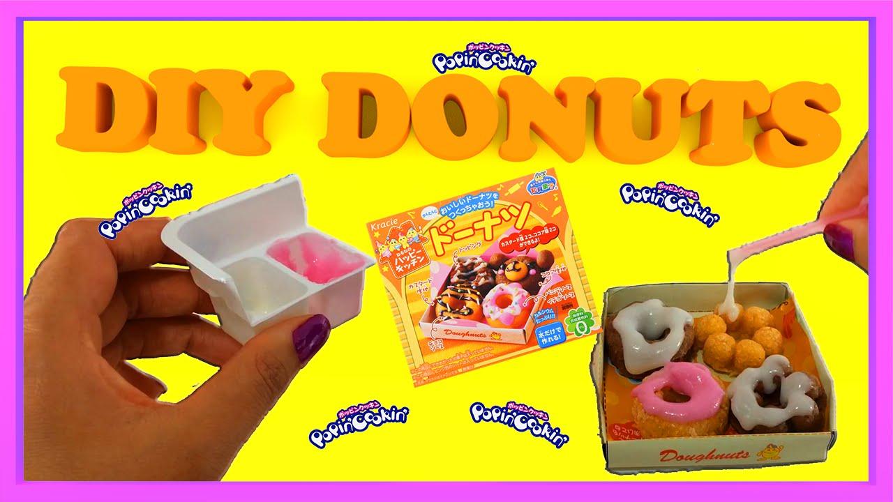 Kracie popin cookin donut kit (feat. Bosco) youtube.