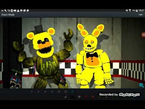 Making Spring Freddy And Spring Bonnie Phantom Freddy And