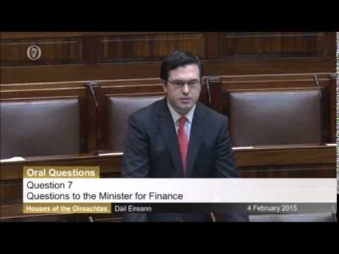 Dail Questions: Minister for Finance 4/2/2015