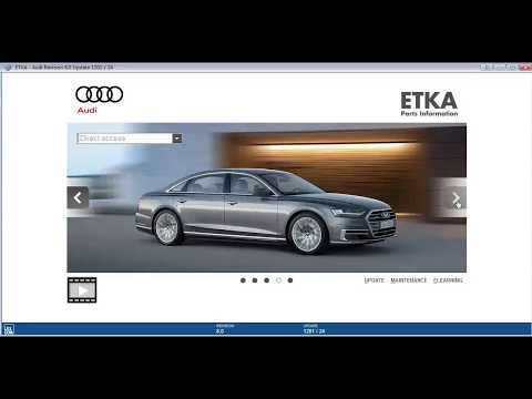 VAG ETKA 8.0 Electronic Parts Catalogue (EPC) for Volkswagen Group Vehicels
