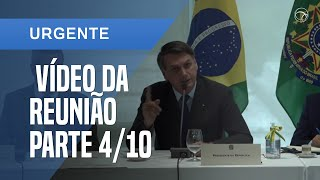 VÍDEO DA REUNIÃO MINISTERIAL: BOLSONARO TEME PROCESSO CASO ESQUERDA VENÇA EM 2022 [4/10]