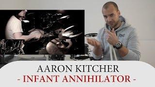 Drum Teacher Reacts to Aaron Kitcher  - Drummer of Infant Annihilator