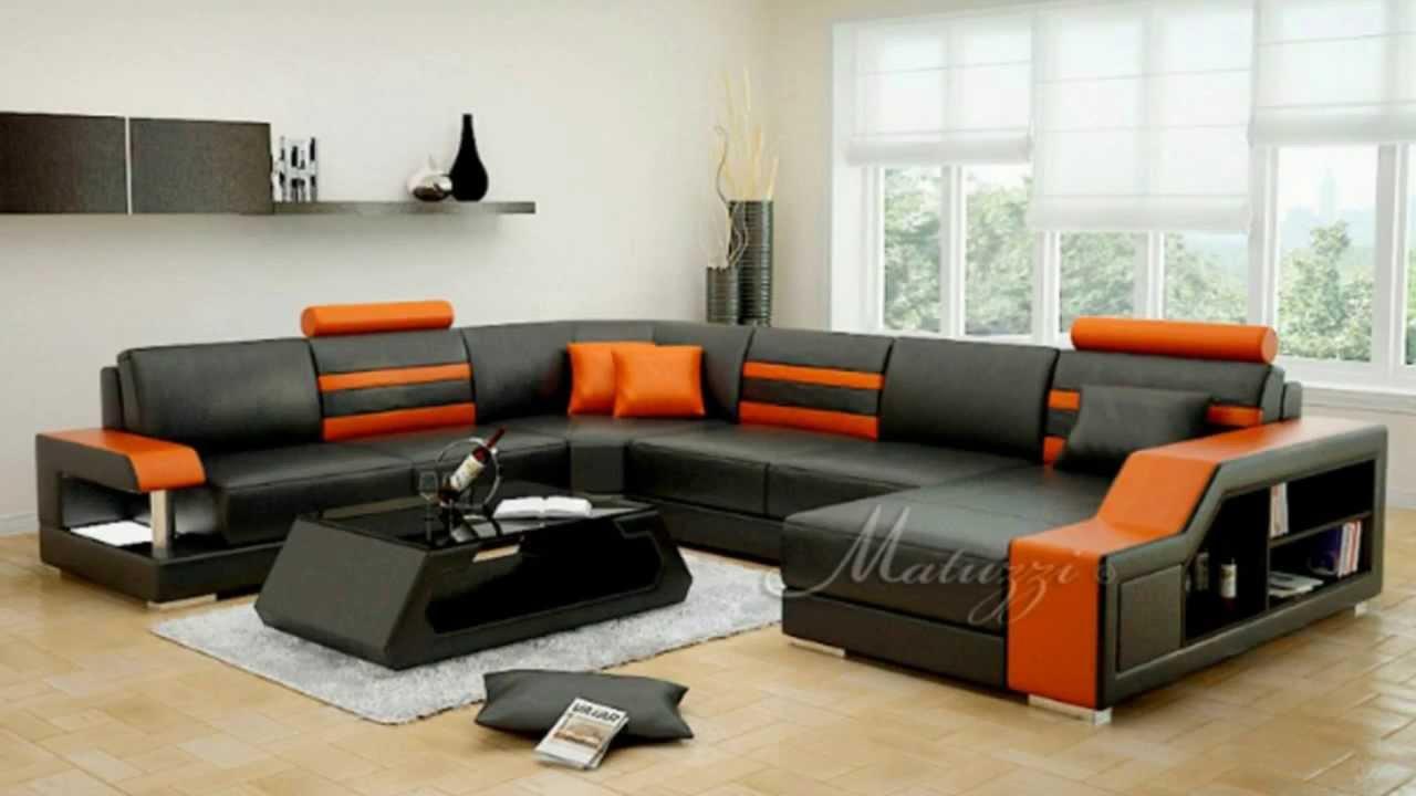 Matuzzi italian designer sofas youtube for Trendy furniture
