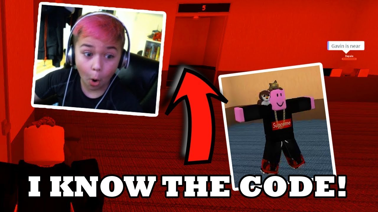 Roblox The Normal Elevator I Know The Code Youtube