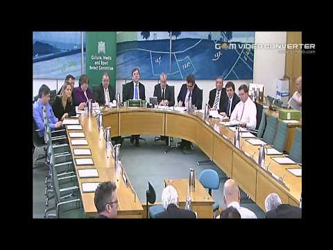 Culture Media and Sport select committee
