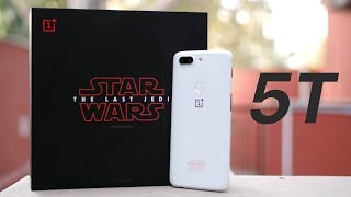 OnePlus 5T Star Wars Edition: The Force is Strong Here!