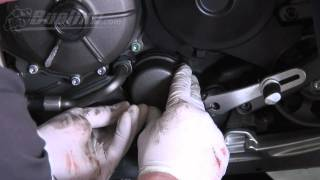 buell 1125r 1125cr oil change how to video