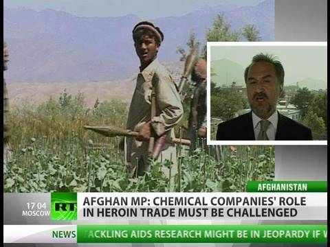 Afghan heroin 'sponsored' by West?