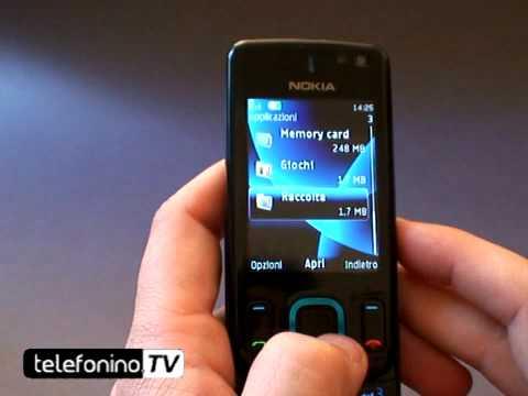 Nokia 6600 slide videoreview da telefonino.net