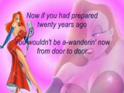 Why Dont You Do Right-Jessica Rabbit karaoke
