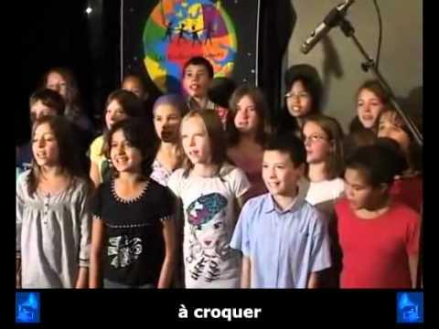 Les Enfantastiques - « La chanson chocolat » + sous-titres