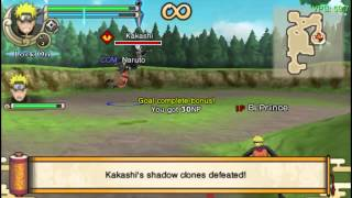 Naruto Shippuden: Ultimate Ninja Impact (PSP/PC) Gameplay (PPSSPP) - A8-5500 / HD-5670