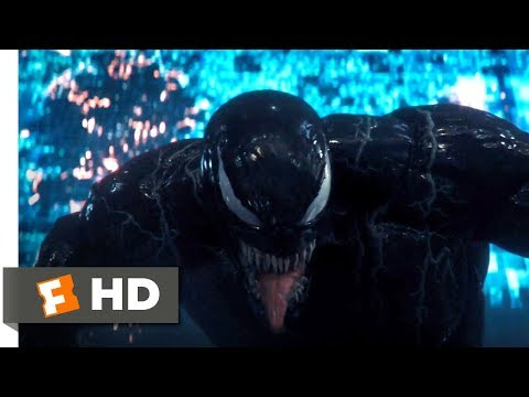 Venom (2018) - Getting Swatted Scene (5/10) | Movieclips