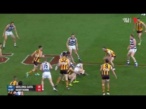 2016 QF: Geelong v Hawthorn highlights - AFL