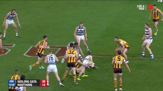 2016 QF: Geelong v Hawthorn highlights - AFL