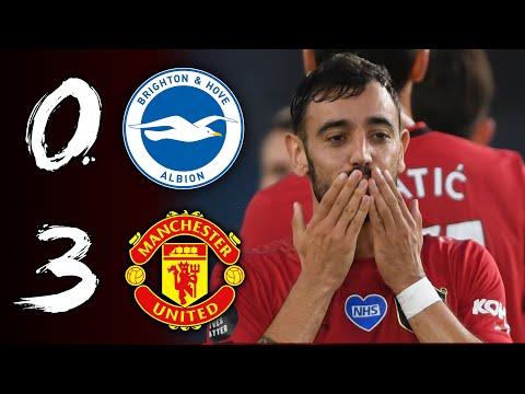 INCREDIBLE BRUNO, INSPIRED WIN | BRIGHTON 0-3 MAN UTD