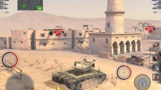 Wot Blitz T26E4 SuperPershing vs IS3