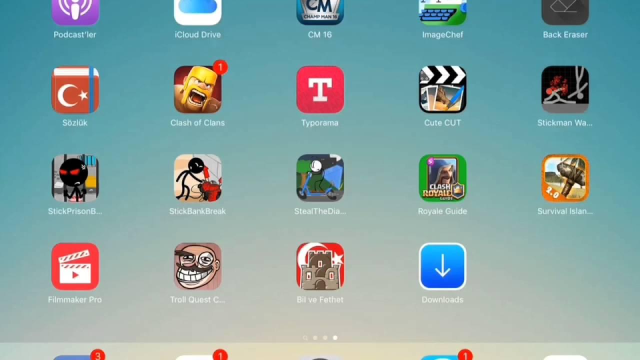 Iphone 5 jailbreak yapmadan oyun yükleme