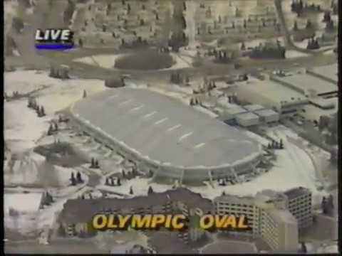 1988 Winter Olympics - Men's 500 Meter Speed Skating