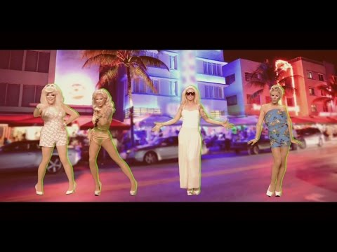 """Tan With You"" ft. Trixie Mattel, Miss Fame, Pearl and Katya RuPaul's Drag Race S7"