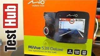 mIO MiVue 538 Deluxe GPS  Antyradar - rejestrator samochodowy test, recenzja, prezentacja