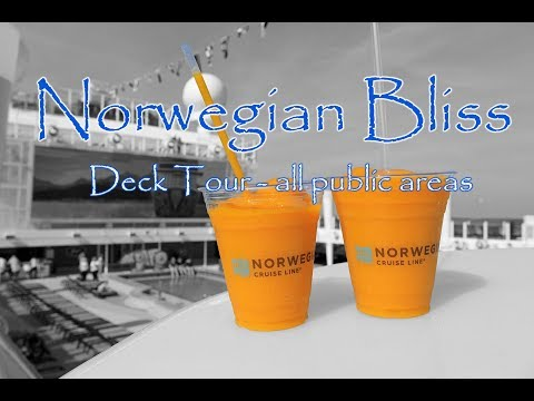 Norwegian Bliss Deck Tour and Overview