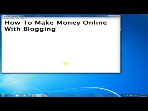How To Make Money Online With Blogging