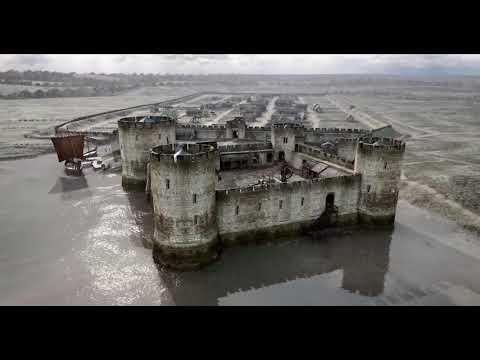 Flint Town & Castle 1300AD