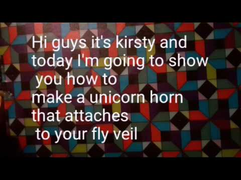 Diy Unicorn Horn For Horses Kirsty All Thing Equestrian Youtube