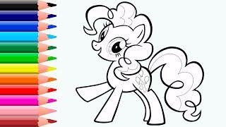 Dibujando a Mi Pequeño Pony Personajes para Niños y Niñas Pequeños   Videos Infantiles