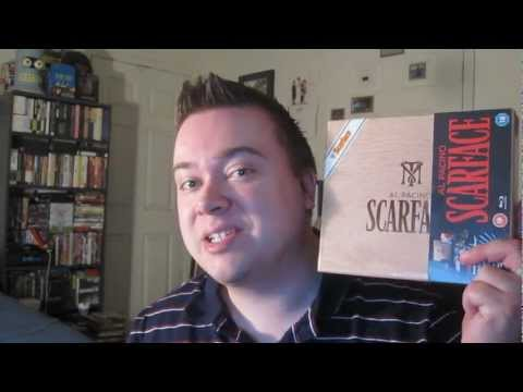 Scarface Blu-Ray Limited Edition Cigar Box Set Unboxing Review