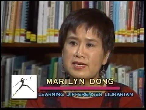 "April 1995 ""At the Public Library"" television magazine program"