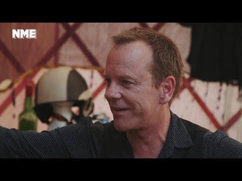 Glastonbury 2017: Kiefer Sutherland talks playing festival and Jeremy Corbyn's 'hopeful' message