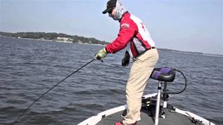 Fishing with the New Strike King Structure Jig on Ledges