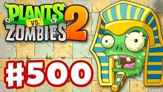 Plants vs. Zombies 2: It's About Time - Gameplay Walkthrough Part 500 - Power Plants Update! (iOS)