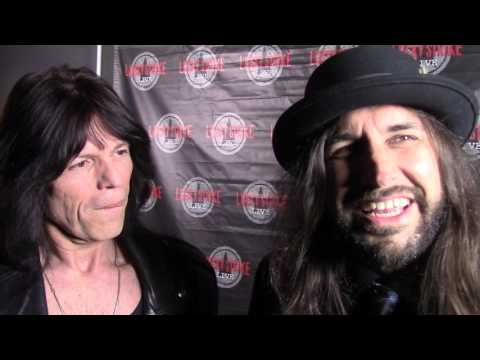 BRIAN TICHY RED CARPET INTERVIEW SOUNDCHECK Discussing BLACK MONGOOSE LIVE LUCKY STRIKE