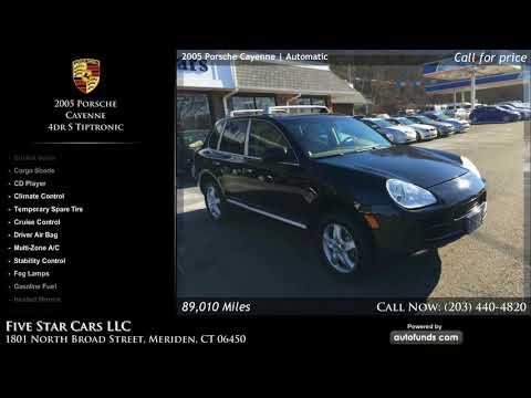 Used 2005 Porsche Cayenne   Five Star Cars LLC, Meriden, CT